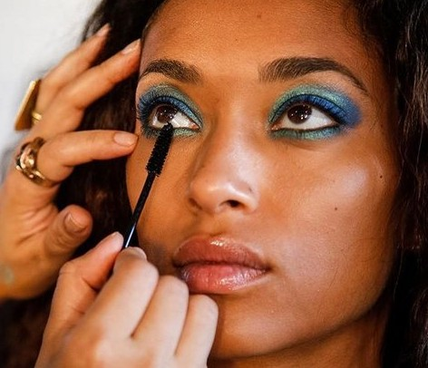 diane von furstenberg spring 2016 makeup trend
