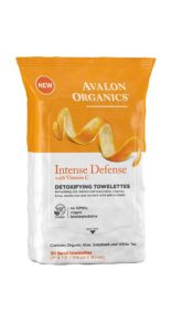 Avalon lIntense Defense towelettes