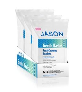Jason Gentle Basics Facial CLeansing Towelettes