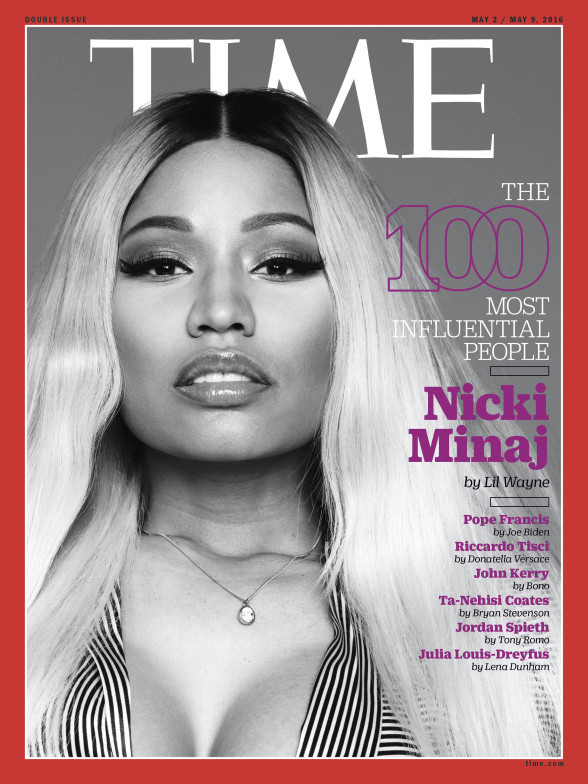 Nicki-Minaj-Time 100 most influential