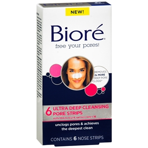 Biore Ultra Deep Cleansing Pore Strips Ultra