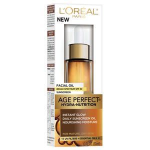 L'Oréal Paris Age Perfect Hydra-Nutrition Facial Oil SPF 30