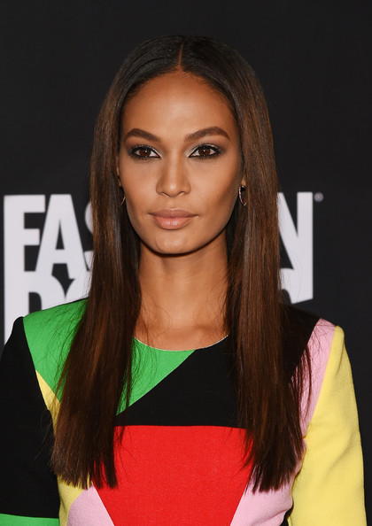 joan smalls straight hair 2