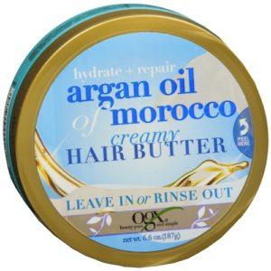 OGX Creamy Hair Butter, Hydrate + Repair Argan Oil of Morocco