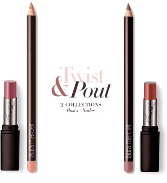 laura mercier Twist & Pout Collection – Roses & Nudes