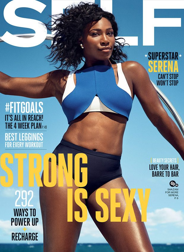 Serena-Williams-Self-Magazine magazine cover september 2016