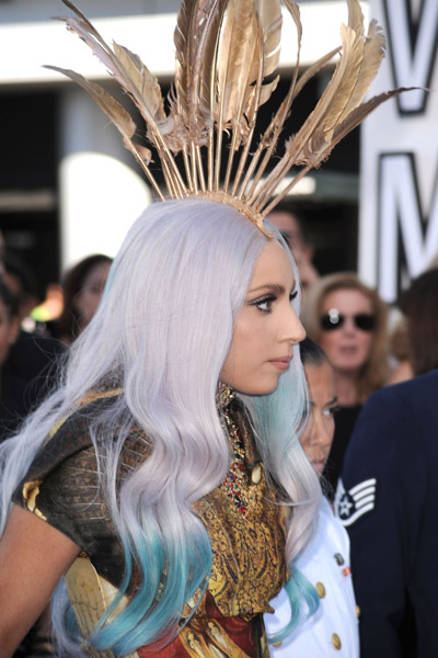 Lady Gaga MTV VMA's September 12, 2011 Getty Images