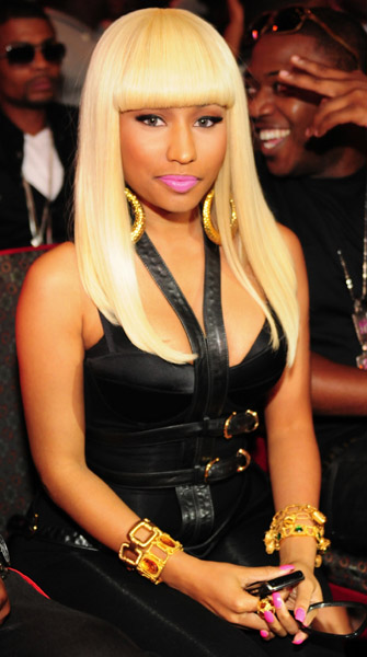 Nicki Minaj at 2010 BET Hip Hop Awards Getty Images
