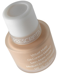 Prescriptives Virtual Matte SPF 15 Oil Free Foundation