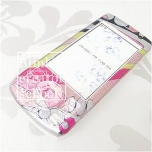 ラミネートデコ スライド式携帯電話