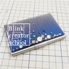 ブリンククリエータースクール名古屋本校のブログ-名刺ケースデコ