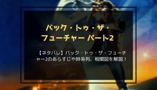 【ネタバレ】バック・トゥ・ザ・フューチャー2のあらすじや時系列、相関図を解説!