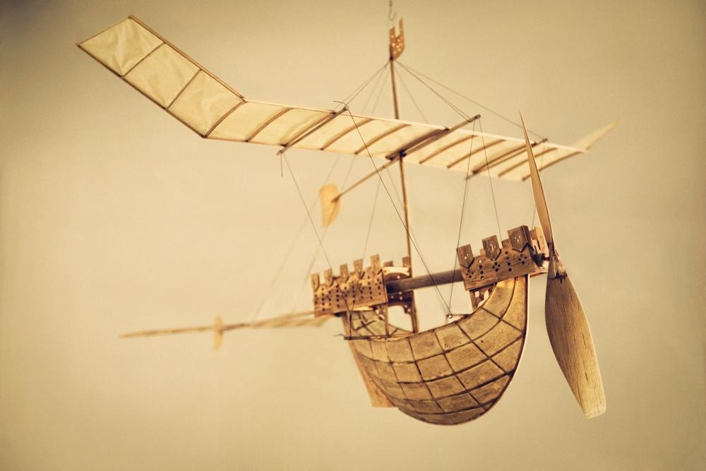 Luigi Prina Flying Ships Milan