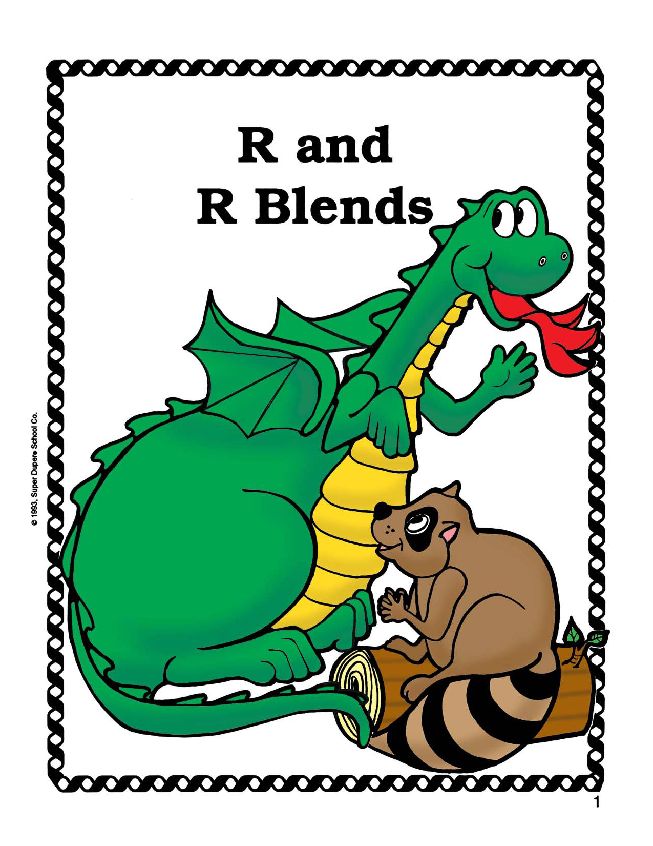 R R Blends Worksheets