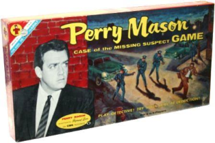 Perry Mason Board Game