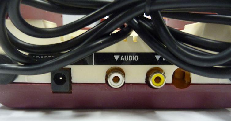 GA-7000 console back