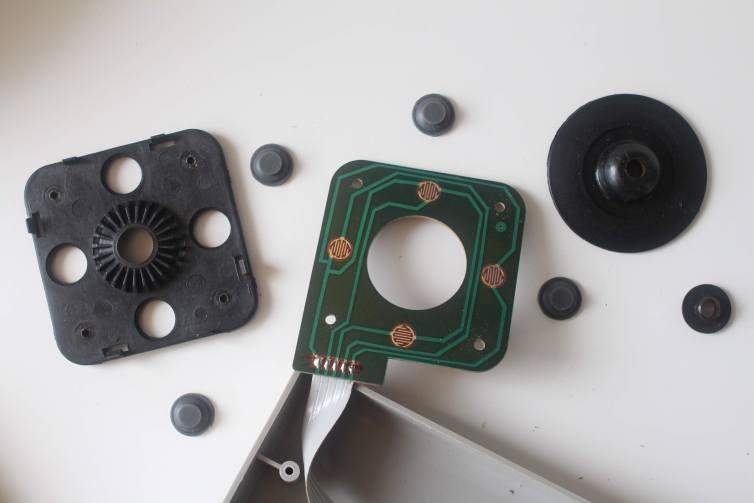 Honest XE-7 joystick conductive pads