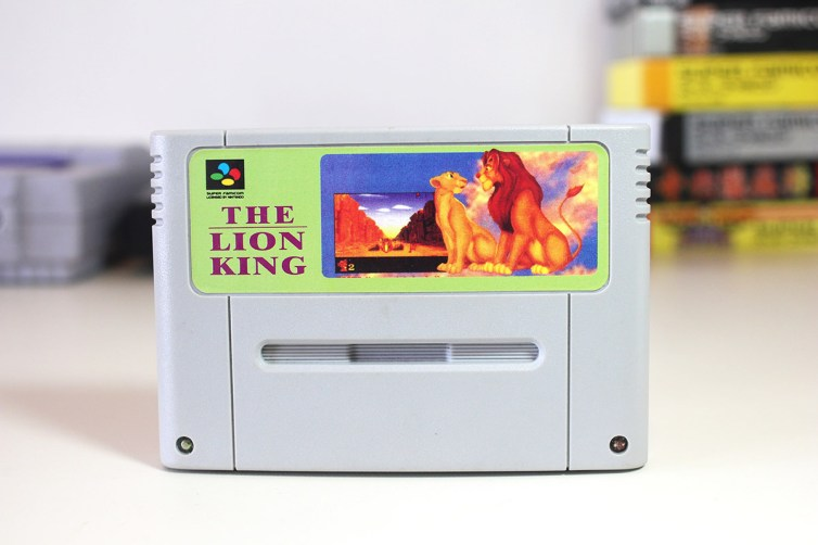 Label of The Lion King bootleg