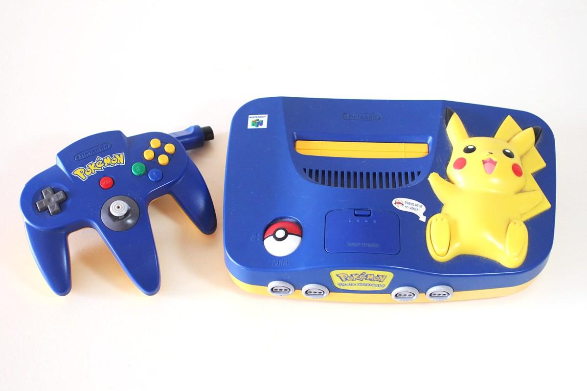 Pokemon Pikachu Nintendo 64 – Blip