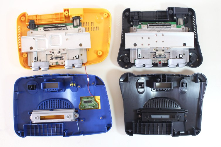Inside the Pikachu N64 and a Taiwanese N64