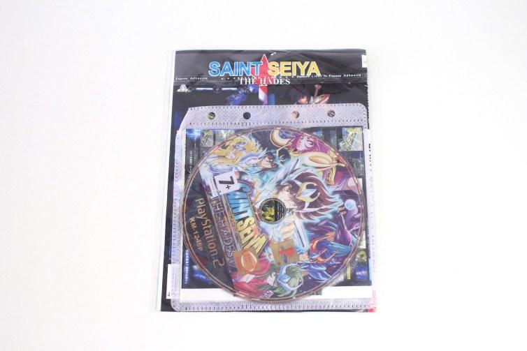 A bootleg PS2 game disc