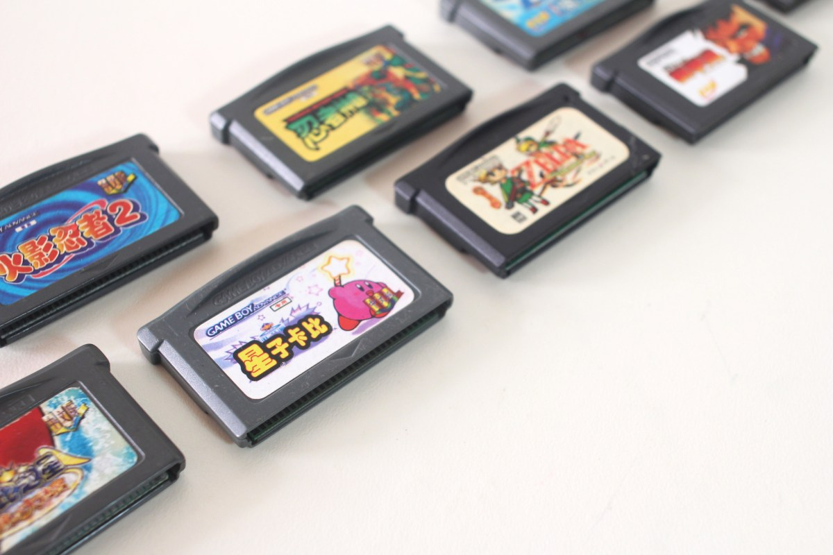 Chinese language Kirby bootleg for GBA