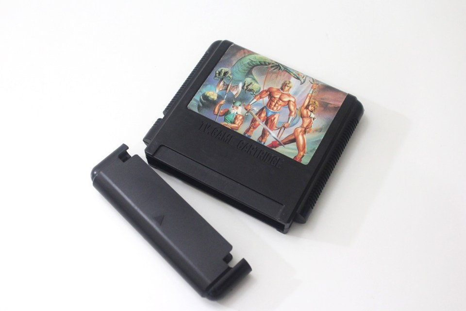 Golden Axe tall cart bootleg for Sega Mega Drive