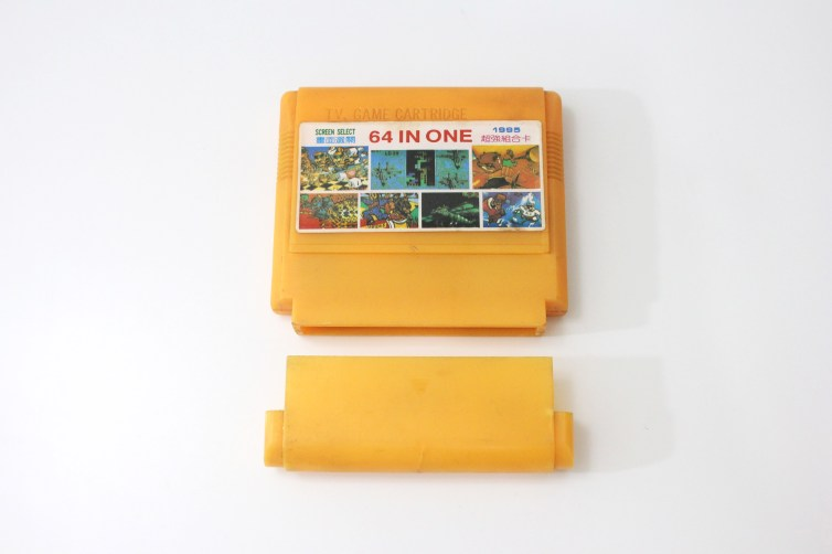 A multi game cart for Famicom