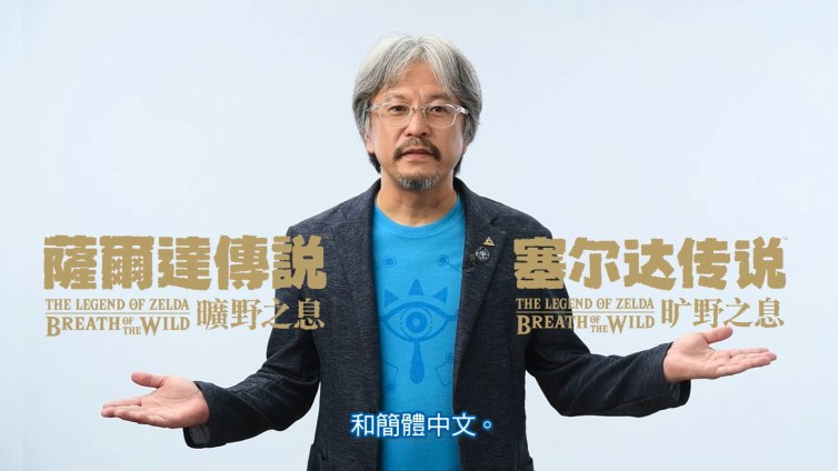 Zelda: Breath of the Wild - Chinese Version
