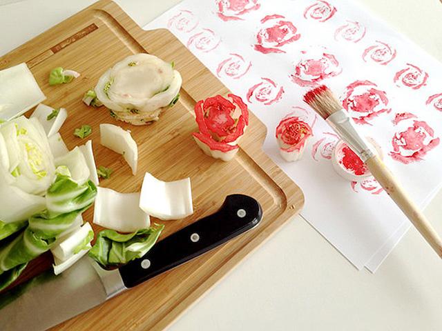 Tips 10fruit and veggie prints 6 5 ไอเดียนำผักผลไม้มาใช้เป็นแม่พิมพ์