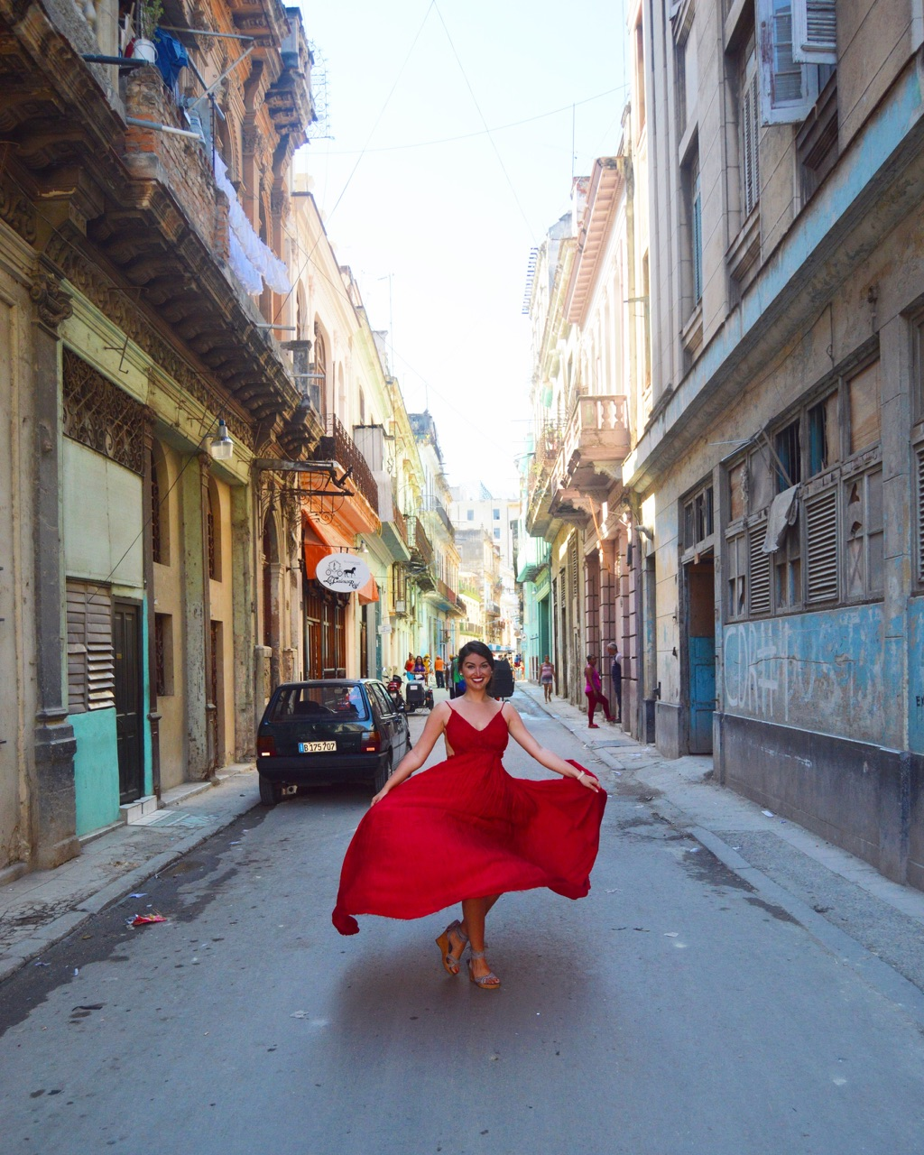 Feeling Red Hot in La Habana