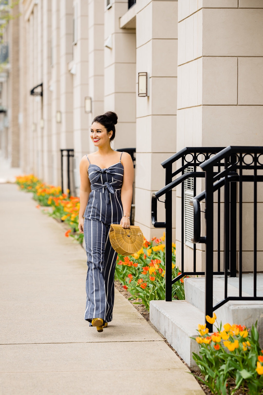 Striped Summer Jumpsuit