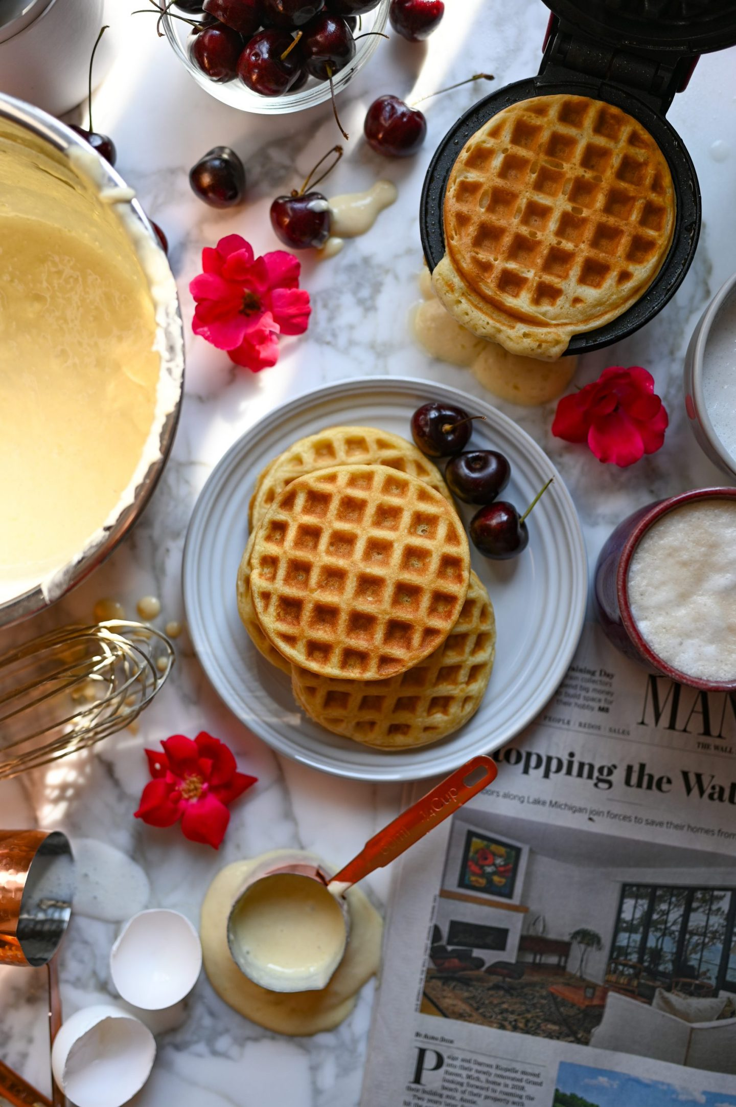 Buttermilk-Brown Sugar Waffles