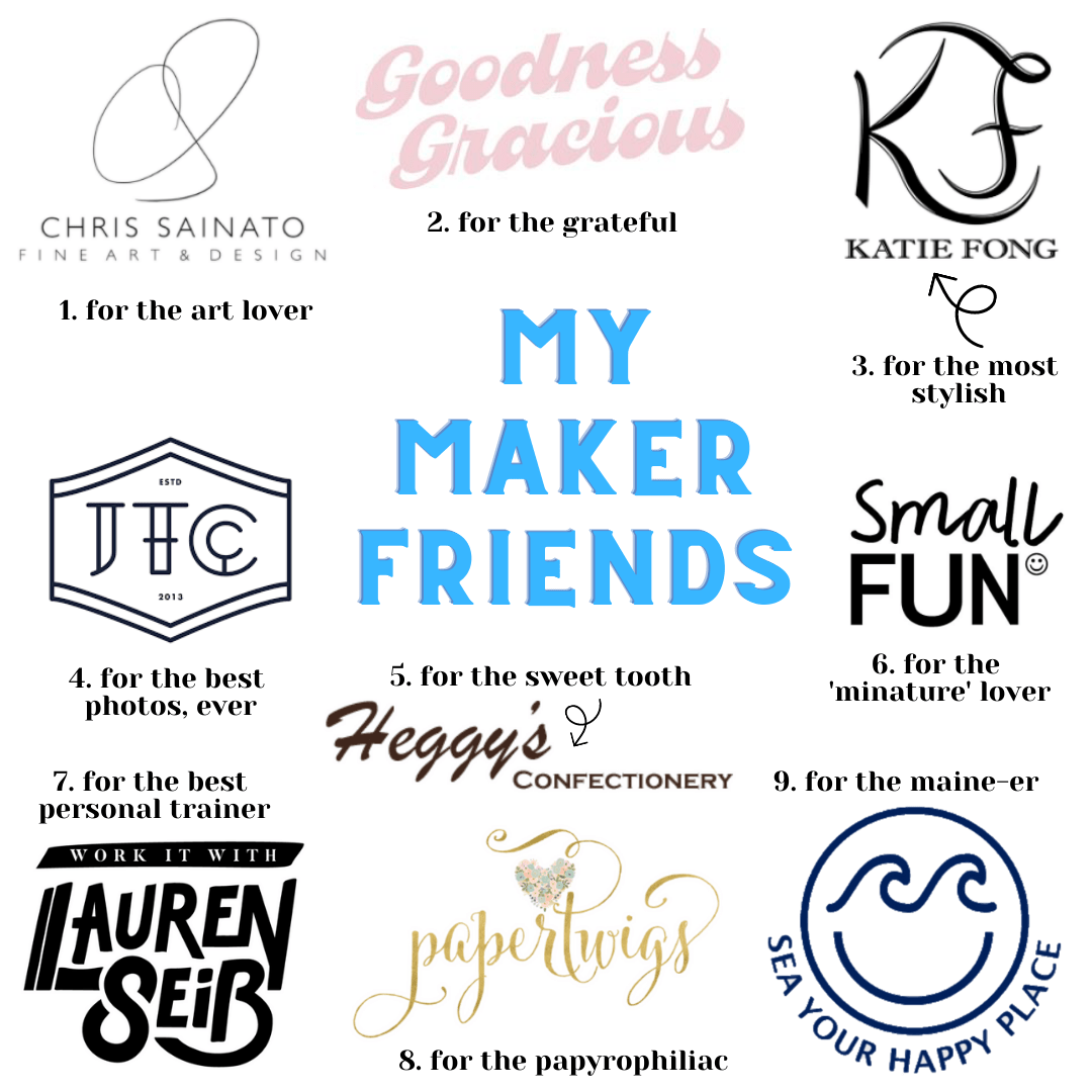 2020 Holiday Gift Guide: My Maker Friends