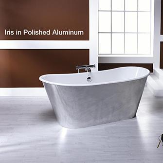 Recor Iris Cast Iron Bathtub