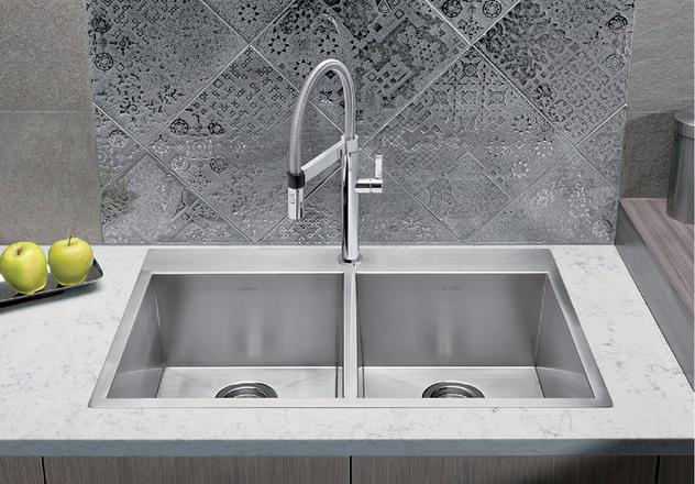 blanco bar sink quatrus drop in 2 0 401646