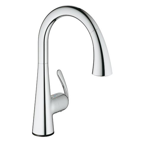 grohe ladylux cafe touch kitchen faucet 30205001 30205dc1
