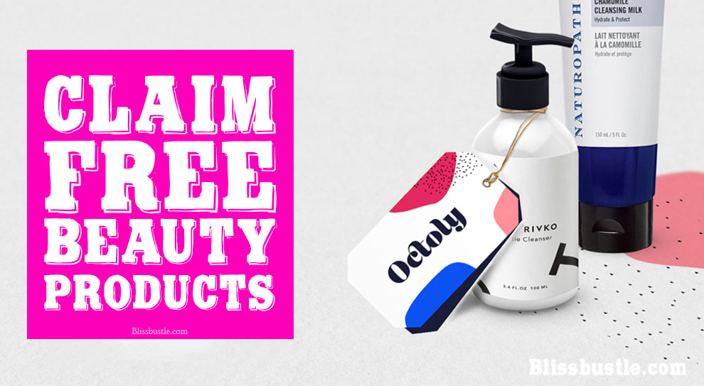 FREE BEAUTY PRODUCTS FROM OCTOLY