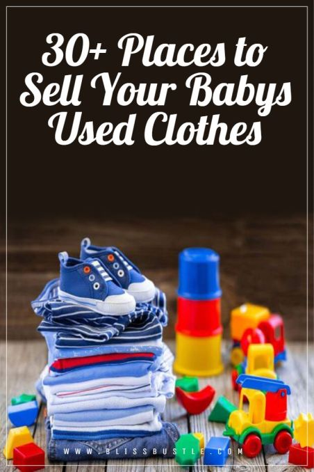 Best ways to Sell Used Baby Clothes