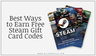 Earn Free Steam Gift Cards and redeem wallet Codes
