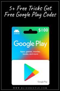 Free Google Play Codes to Redeem Credit
