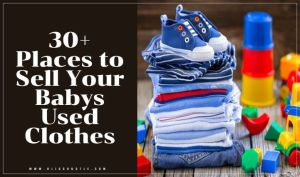 Where to Sell Used Baby Clothes