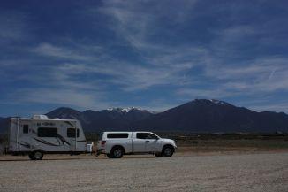Leaving Taos