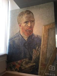 Van Gogh replica on full-size wall