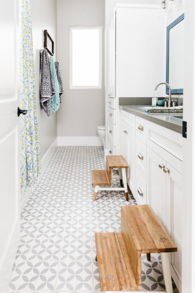 styling with target colorful kids bathroom blissful design studio home staging design