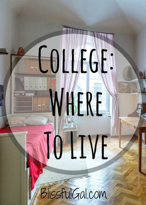 Deciding where to live at college can be a huge debate. There are pros and cons to living at home and in a dorm. Use these tips to decide where is best to live for you