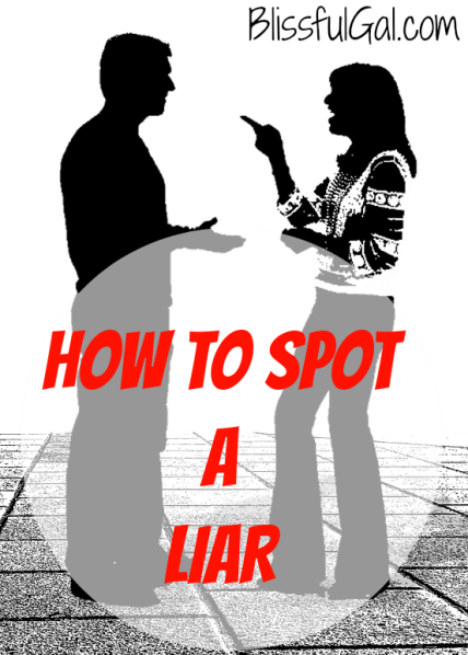 Have you ever been lied to?  Chances are, you have, and it is not fun.  Follow these tips on how to spot a liar and you'll be an expert detective in no time!