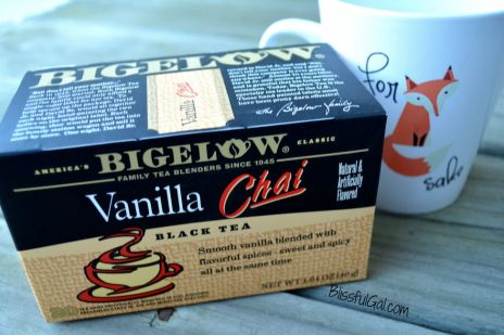 Chai tea is one of the best fall teas. The spices in it just scream FALL!