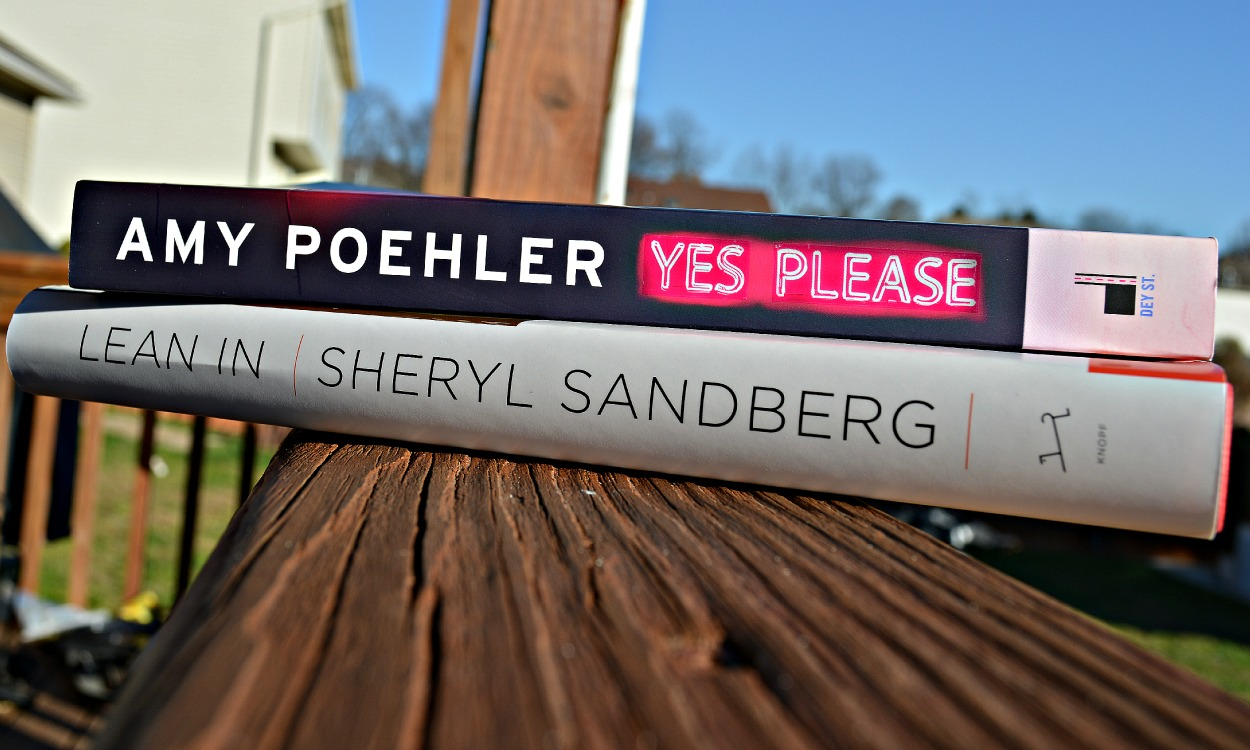 how to stay productive in your time blissful gal i have heard so much about amy poehler s yes please so when i was at books a million last weekend i picked this up i also was told about sheryl sandberg s