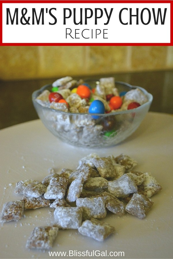 Puppy Chow is a favorite among any party, so why not make this super easy snack?! Covered in chocolate, peanut butter, and powdered sugar, you can't go wrong